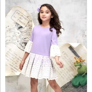 Chasing Fireflies Boutique Girls XL Lavender lace